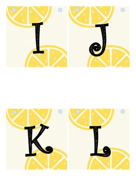 Lemon Banner