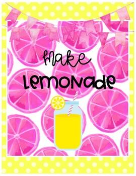 Lemon Binder Covers Freebie
