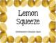 Lemon Day Activities Bundle