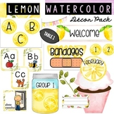 Lemon Decor Pack Bundle