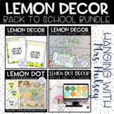 Lemon Dot Back to School Bundle