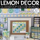 Lemon Dot Decor Bundle