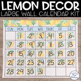 Lemon Dot: Editable Calendar
