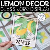 Lemon Dot: Editable Class Jobs Display