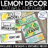 Lemon Dot: Editable Clip Chart