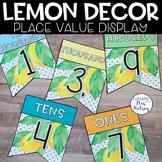 Lemon Dot: Place Value Display