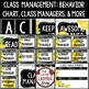 Lemon Theme Farmhouse Behavior Chart, Class Management Strategy & Classroom Jobs