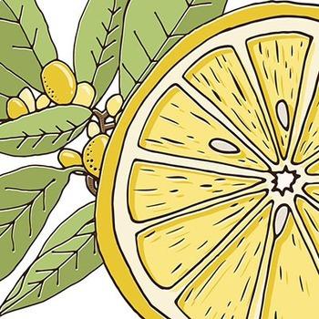 Lemon Fresh Clip Art, Summer Sunshine, Lemon Tree, Food Clipart