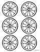 Lemon & Lime Fraction Circles