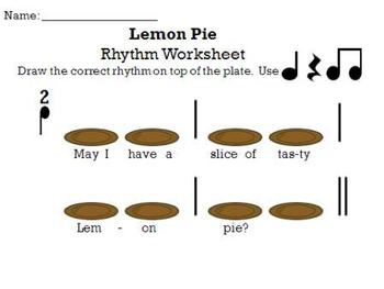 Lemon Pie - a song for Re