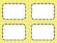 Lemon Yellow Tile Classroom Labels