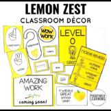Lemon Classroom Decor Bundle