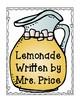 Lemonade- A Literacy and Math Unit