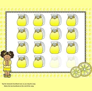 Lemonade - (A Steady Beat, Long vs. Short, Song/Game) - PPT Ed.