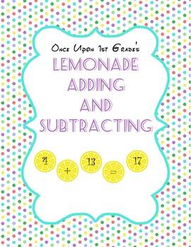 Lemonade Adding and Subtracting