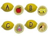 Lemonade Alphabet Beginning Sounds Game