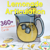 Lemonade Articulation- 360+ Articulation Cards