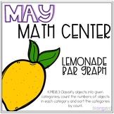 Lemonade Bar Graph Kindergarten May Math Center