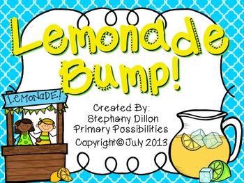 Lemonade Bump Addition Game