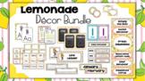 Lemonade Classroom Decor: Editable Bundle