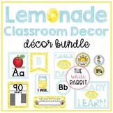 Lemonade Classroom Decor Set