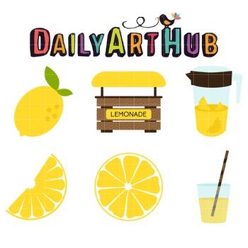 Lemonade Clip Art - Great for Art Class Projects!