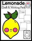 Lemonade Craft and Writing for Kindergarten (Summer)