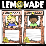 Lemonade Stand Activity | End of Year Craft
