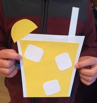 Lemonade Craftivity (Summer and Back to School!)