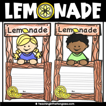 Lemonade Stand Craft Activity (Summer Craft)