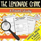 The Lemonade Crime Novel Study Unit Distance Learning