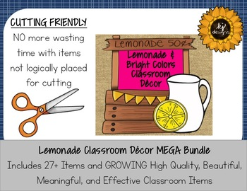 Classroom Decor Lemonade