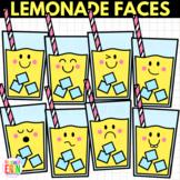 Lemonade Faces Clipart