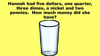 Lemonade For Sale - A Money Problem Solving PowerPoint Game