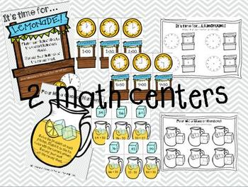 Lemonade Fun! {Centers, Printables & Craftivity!}