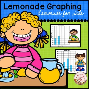 "Bar Graphs ""Literature and Math"" (Lemonade Theme)"