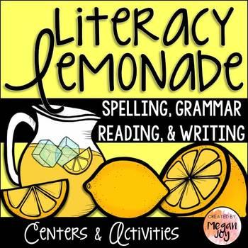 Lemonade How To Writing & Literacy Centers