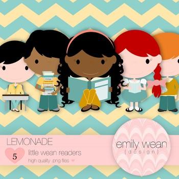 Lemonade - Little Readers Clip Art
