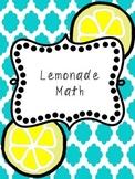 Lemonade Math