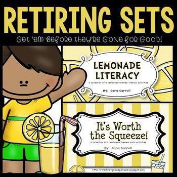 Lemonade Math & Literacy (Retiring Sets)