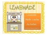 Lemonade Math  for Common Core Standards