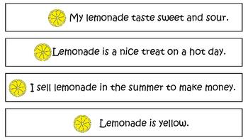 Lemonade Mini Reading Pack