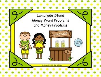 Lemonade Money Math Problems
