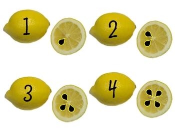Lemonade Numbers & Counting Game