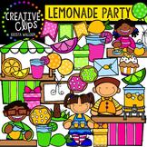 Lemonade Party {Creative Clips Digital Clipart}