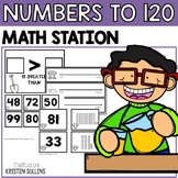 Numbers to 120 Math Stations