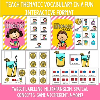 Lemonade Preschool Language Unit