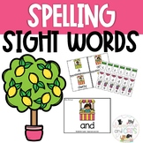 *EDITABLE!* Lemonade Sight Word Spelling Task Cards Review Game