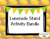 Lemonade Stand Activity Bundle