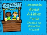 Lemonade Stand Addition Facts